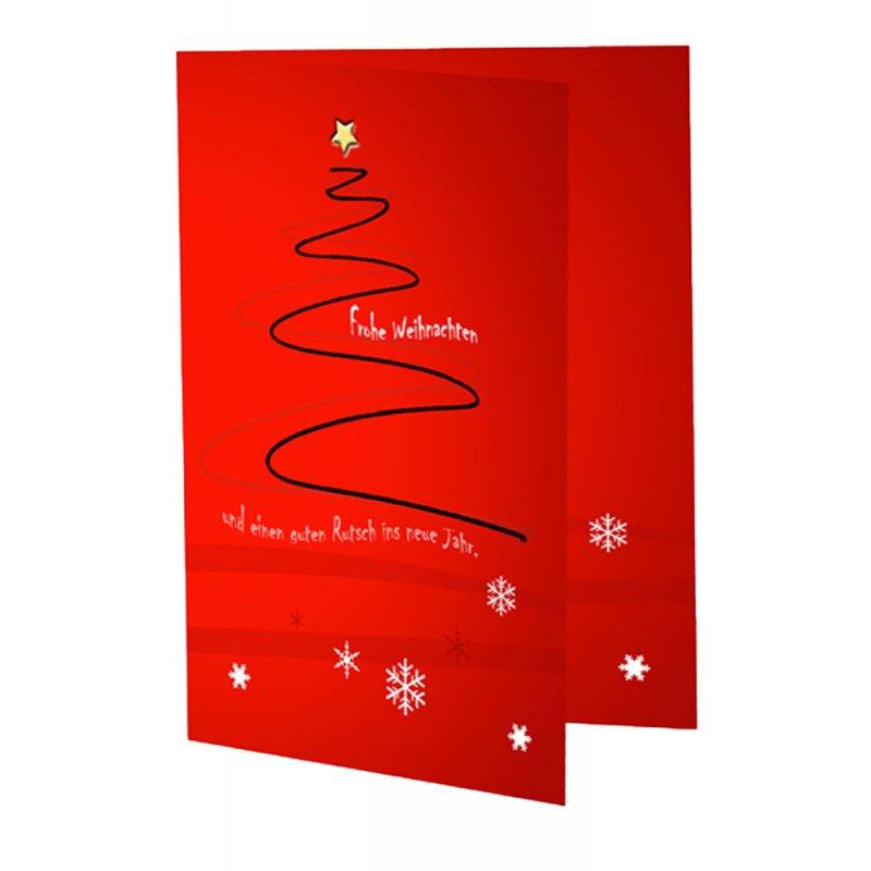 weihnachtskarte 10x15 cm inkl umschlag c6. Black Bedroom Furniture Sets. Home Design Ideas