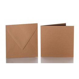 Envelopes with adhesive tape and folding cards