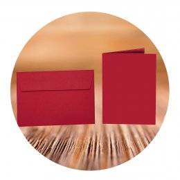 C6 Adhesive envelopes with folding cards
