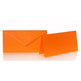 DL Envelopes with adhesive tape and folding cards