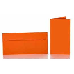 DL Adhesive envelopes with folding cards