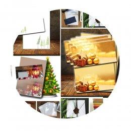 Weihnachtsumschläge
