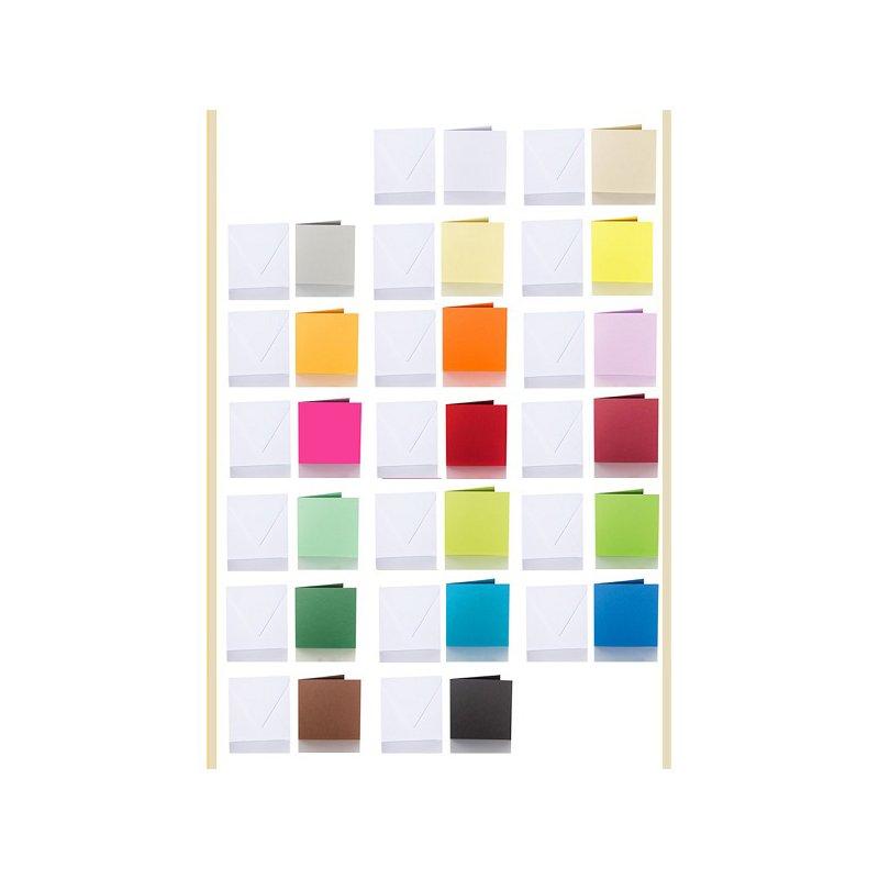 25 quadratische standard briefumschl ge wei 130 x 130 mm. Black Bedroom Furniture Sets. Home Design Ideas