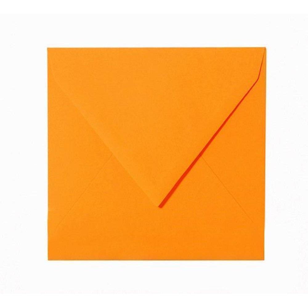 Tannen Gr/ün 150 x 150 mm 15 x 15 cm mit Dreieckslasche 50 Quadratische Briefumschl/äge Farbe
