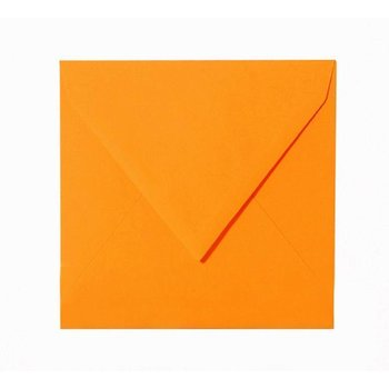 Square envelopes 3,15 x 3,15 in - orange