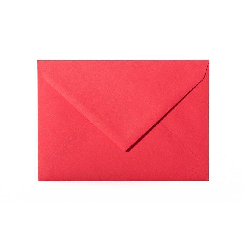 25 Mini Briefumschlag 60 x 90 mm Transparent feuchtklebend