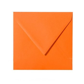 25 Briefumschläge 150 x 150 mm, 120 g/m² - Orange