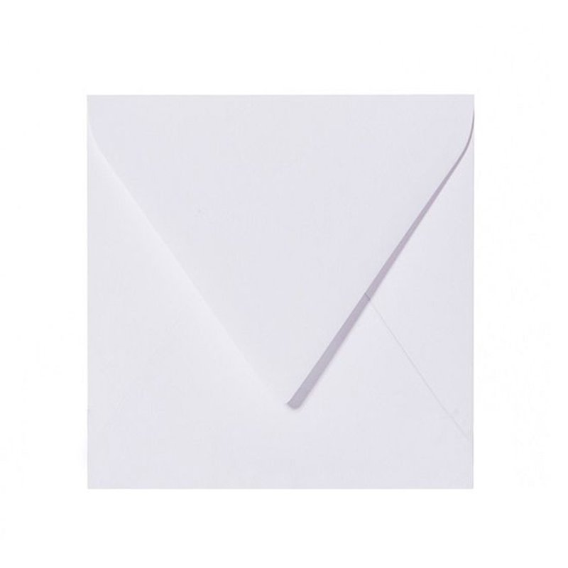 Envelopes 6,10 x 6,10 in in white in 100 g / sqm