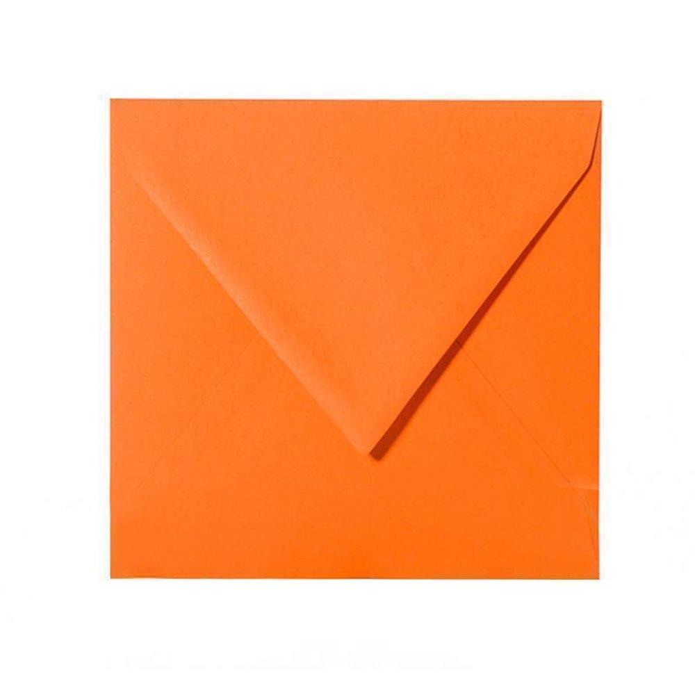 Transparent 15 x 15 cm 150 x 150 mm feuchtklebend Umschl/äge 100 Quadratische Briefumschl/äge Farbe Wei/ß