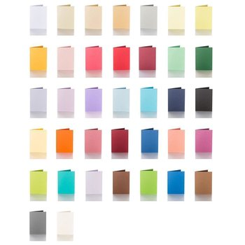 Color choice - folding cards 5,12 x 7,09 in 240 g / qm
