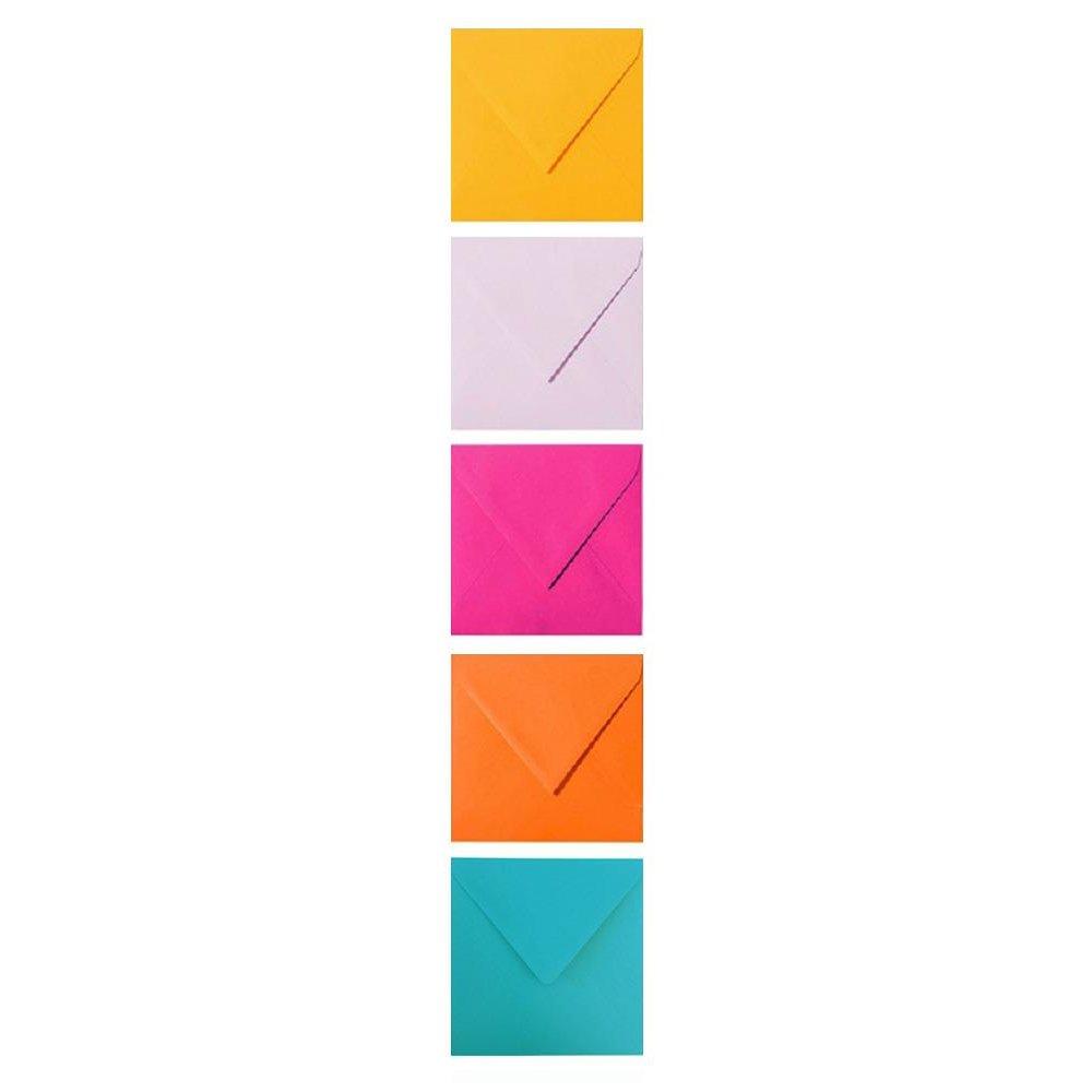 5 Umschläge 60 x 90 mm feuchtklebend 120 g//qm Farbwahl