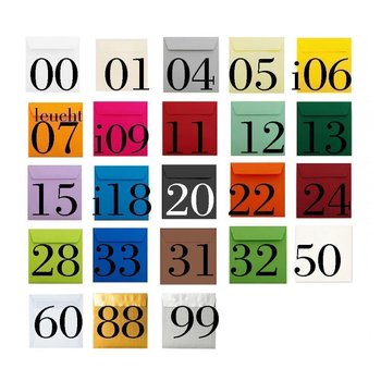 Envelopes square 8,66 x 8,66 in 120 g / qm