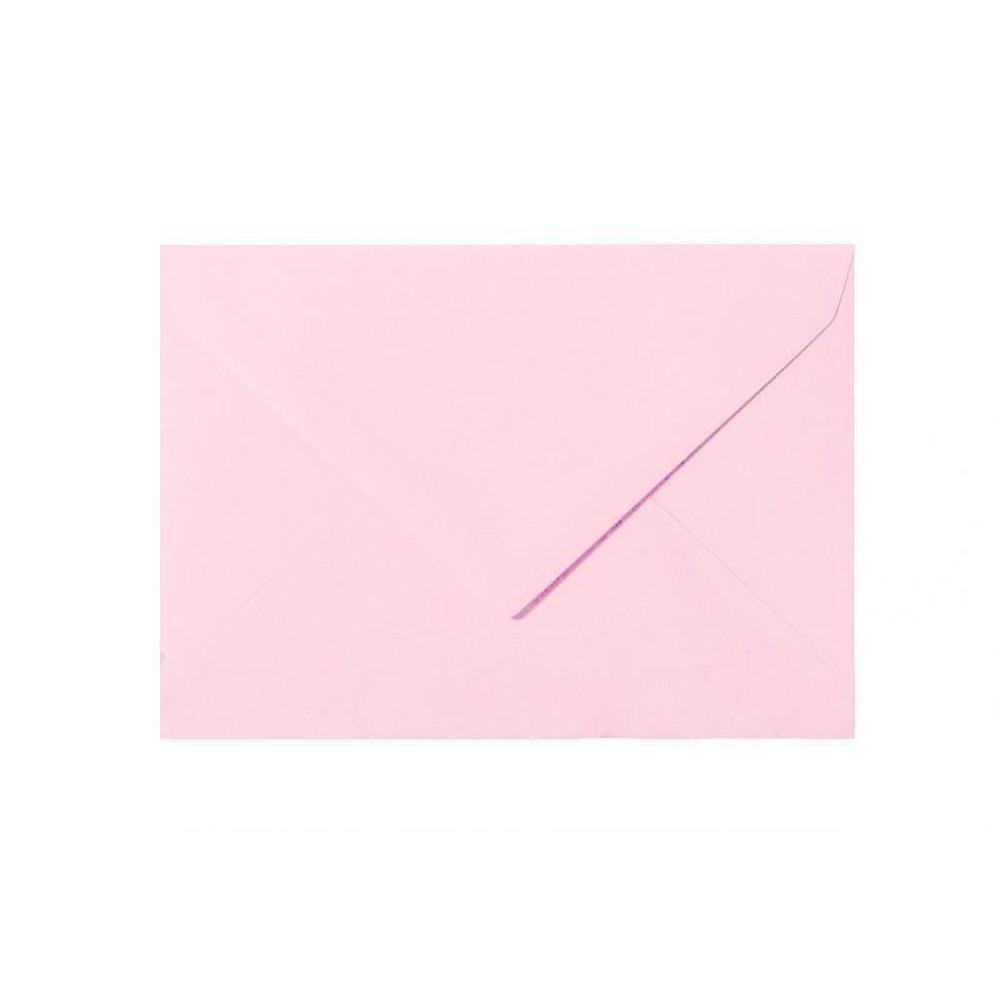 25 Briefumschläge Umschlag Kuvert 140 x 190 mm Pink-Rosa 120 g//qm feuchtklebend