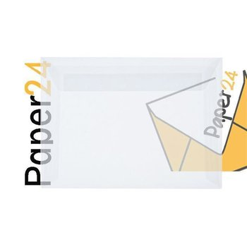 25 transparent envelopes DIN B6 (4,92 x 6,93 in) with...