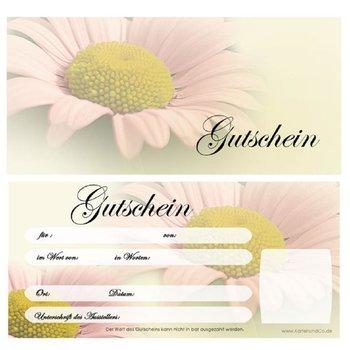 Gutscheine f/ür Blumenhandlung Blumengesch/äft Floristik Blumen 10 Kuverts 10 Schleifen U9243 10 Gutscheinkarten DIN-lang