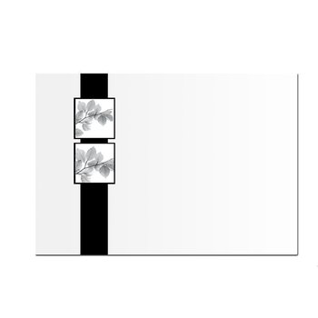 mourning envelopes DIN C6 - 4,48 x 6,37 in - with...