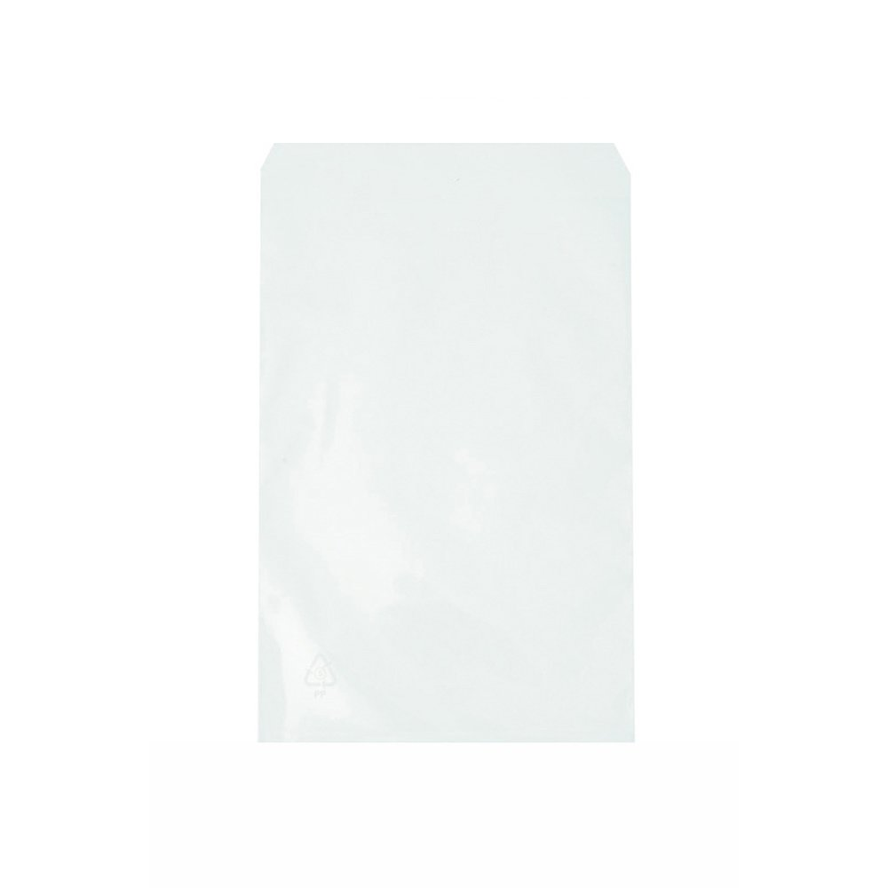 100 Stck 8x12 cm Cellophantüten Flachbeutel  transparent mit Klebeverschluß NEU