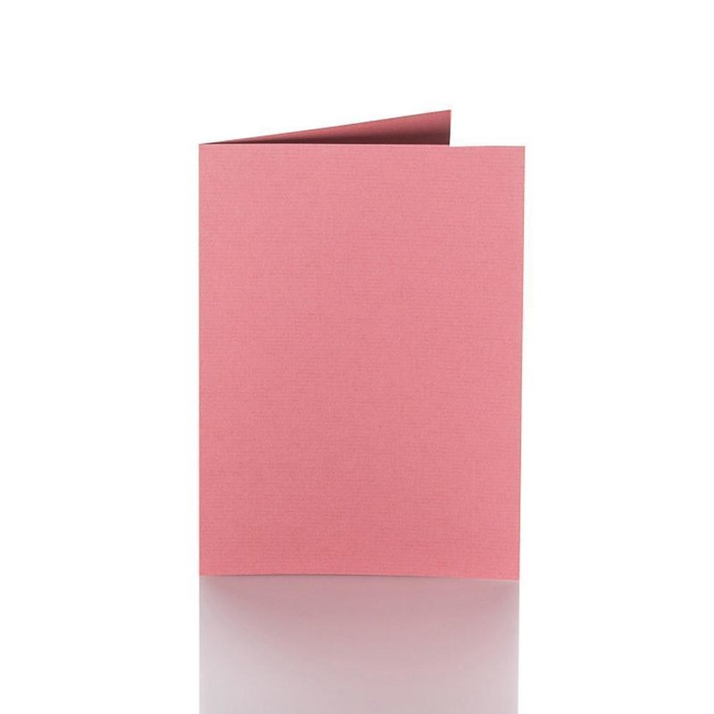 25 farbige blanko Faltkarten Klappkarten 12x17 cm gelb