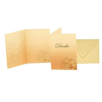 premium thank-you cards as folded cards with premium C6...