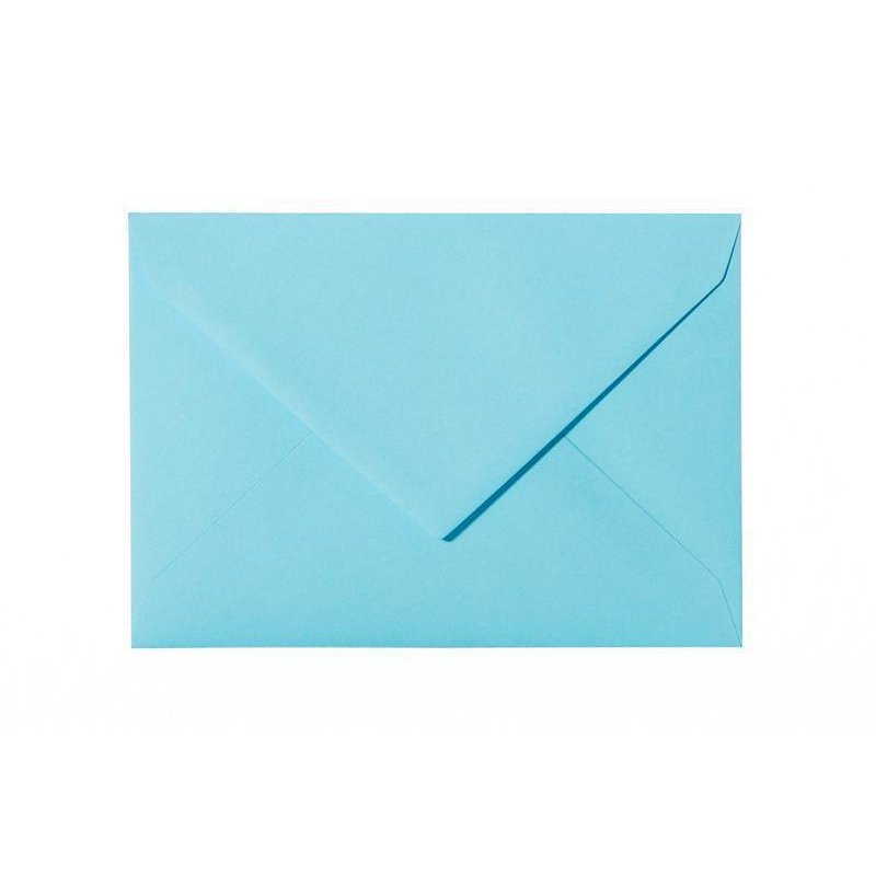 Lila-Blau mit Dreieckslasche Pack 25 Briefumschläge 14x19 cm