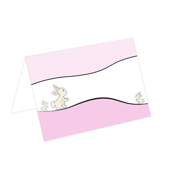 place card for christening or childrens birthday party...