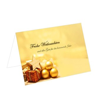 christmas place card TKW23 85x56mm