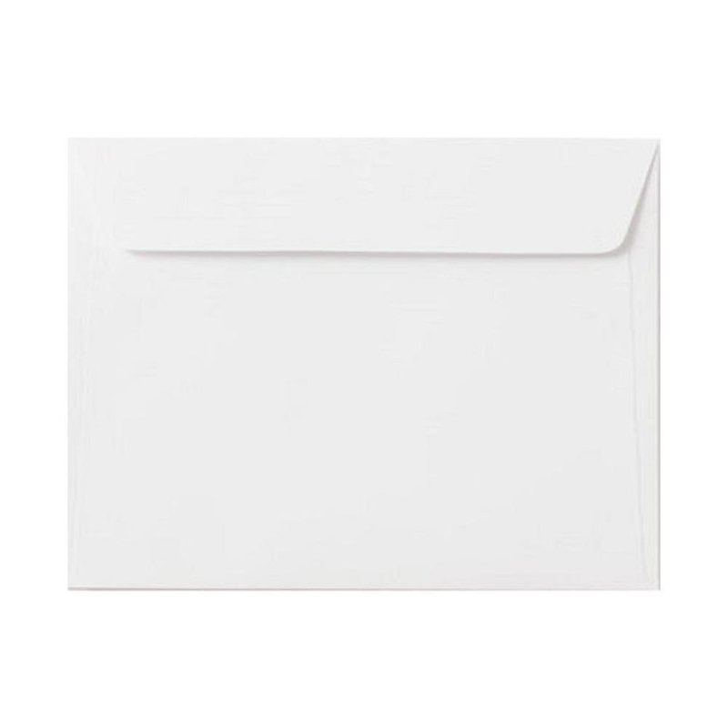 Envelopes C6 (4,48 x 6,37 in) - white with adhesive strips