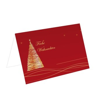 christmas place cards exclusive red TKW51 85x56mm