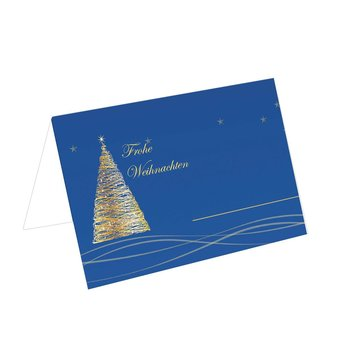 christmas place cards exclusive blue TKW52 85x56mm