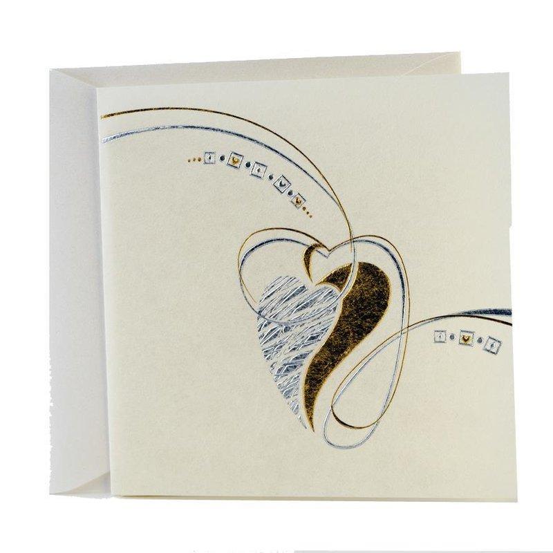 newest 7c9fe 37c3a Exklusive Quadratische Hochzeitskarten im Set